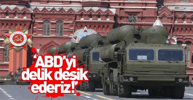 'Füzelerimiz ABD savunma sistemini delik deşik eder'