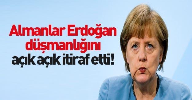 Almanların Erdoğan düşmanlığı!
