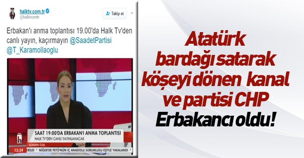 CHP referanduma kadar Erbakancı oldu!