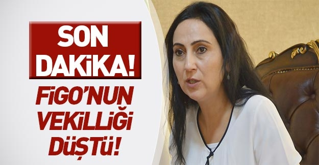 Figen Yüksekdağ'ın milletvekilliği düştü