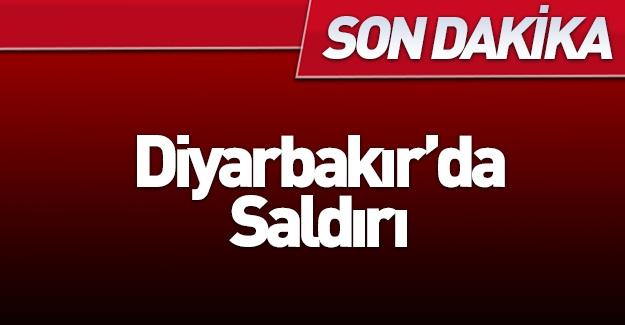 Diyarbakır'da saldırı