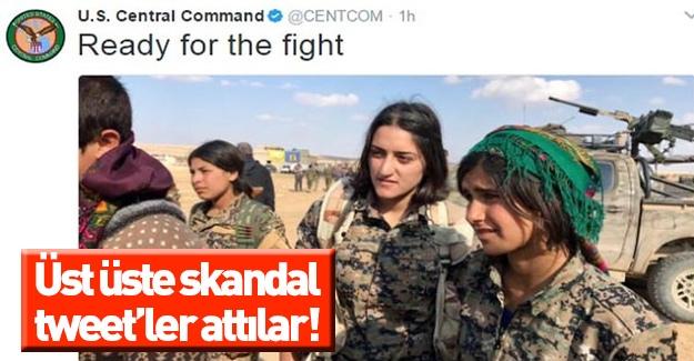ABD ordusunun ardı arkası kesilmeyen skandal tweet'leri