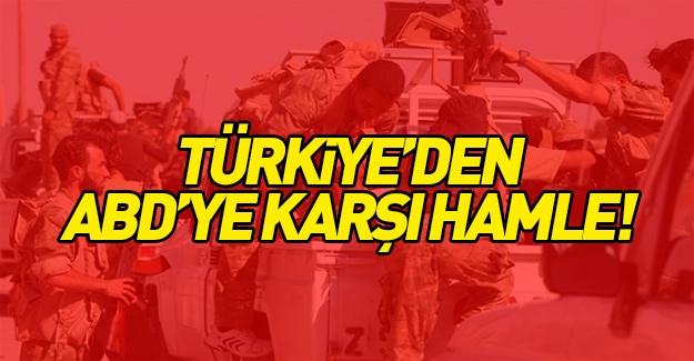 Türkiye'den ABD'ye karşı hamle!