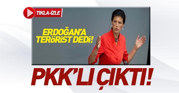 Erdoğan'a 'terörist' demişti! PKK'lı çıktı!