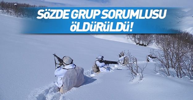 Terör örgütü PKK'nın sözde 'grup sorumlusu' öldürüldü