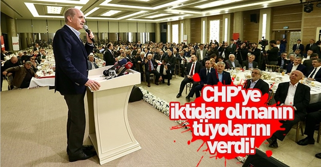 Kurtulmuş'tan CHP'ye iktidar olabilmenin tüyosu