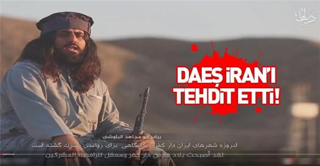 DAEŞ, İran'ı tehdit etti
