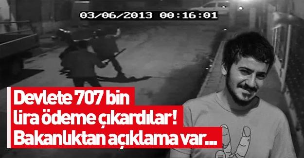 Bakanlık Ali İsmail Korkmaz tazminatına itiraz etti