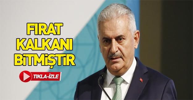 Başbakan: Fırat Kalkanı Harekatı bitmiştir