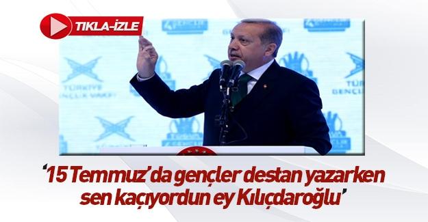 Cumhurbaşkanı'nın TÜGVA konuşması