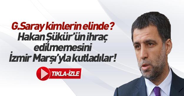 G.Saray Hakan Şükür'ü ihraç etmedi