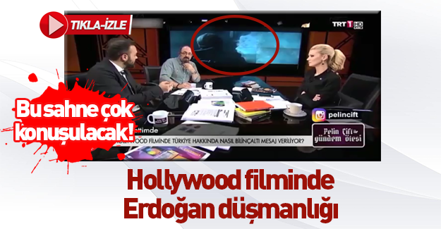 Hollywood filmi Spectral'da Cumhurbaşkanı Erdoğan düşmanlığı