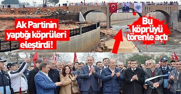 CHP'li İnce'den yok artık derdirten 'köprü' eleştirisi