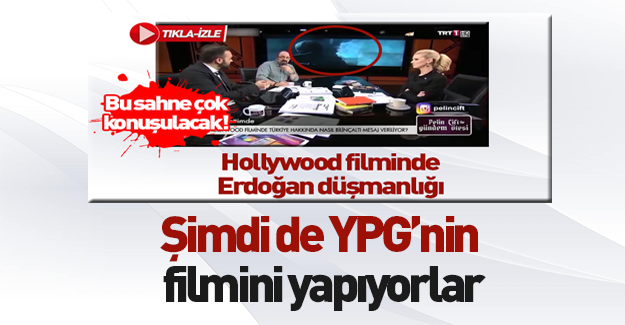 Hollywood'dan terör örgütü YPG/PKK filmi!