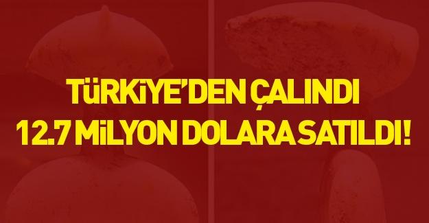 Türkiye'den çalındı 12.7 milyona  satıldı