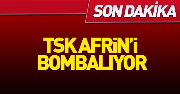 TSK, Suriye'de PYD mevzilerini bombaladı!