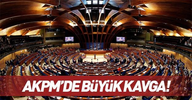 AKPM'de büyük kavga!