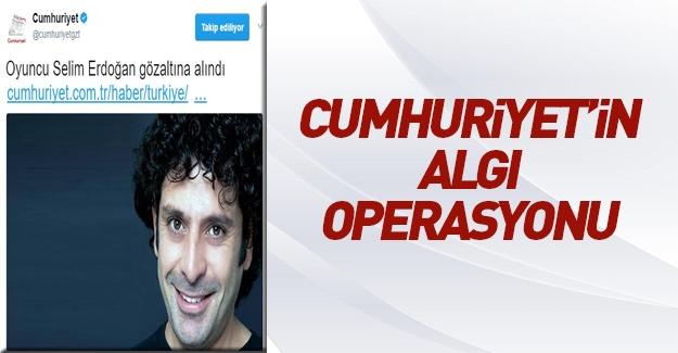Oyuncu Selim Erdoğan uyuşturucudan gözaltına alındı