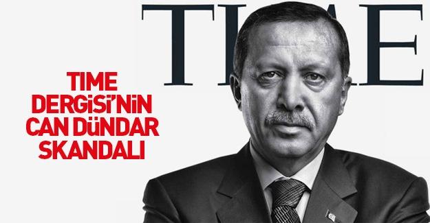 TIME dergisinde Can Dündar skandalı!