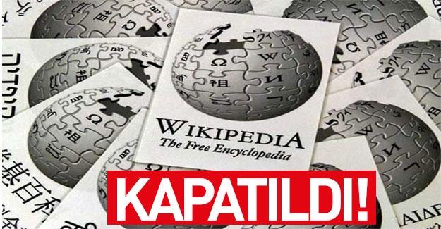 Wikipedia'ya Türkiye'den erişim engellendi