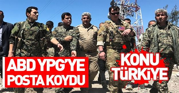 YPG'li teröristler ABD'ye posta koydu!