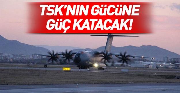 TSK: A400M ATLAS uçağının dördüncüsü envantere girdi