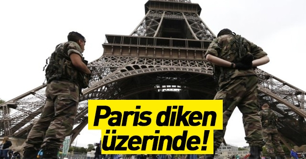 Paris'te son durum