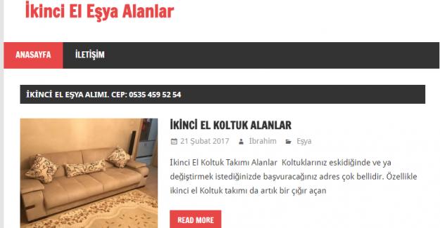 PENDİK HALKINA ÖZEL İKİNCİ EL EŞYA