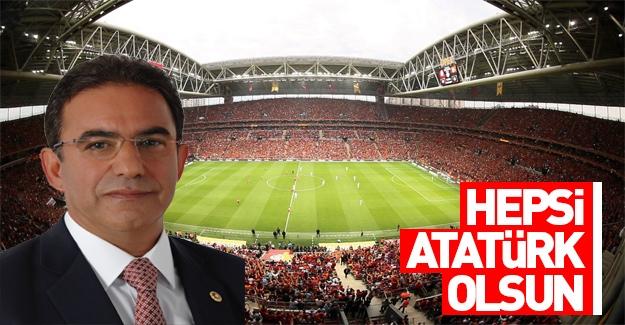 CHP'li vekilden stadyumlar için isim önerisi!