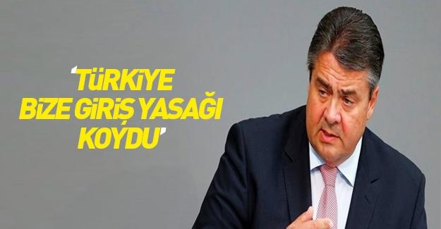 Gabriel: Türkiye bize ülkeye giriş yasağı koydu