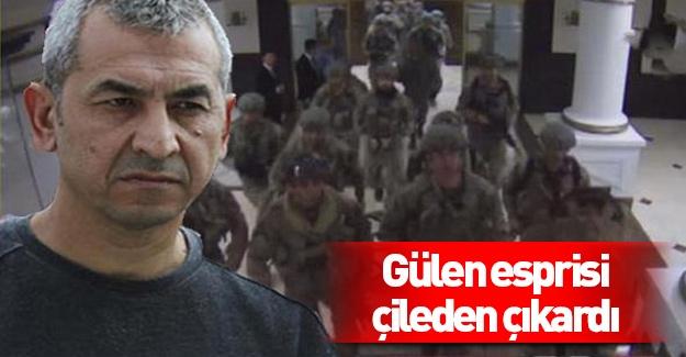 FETÖ'cü albayın Gülen esprisi çileden çıkardı!