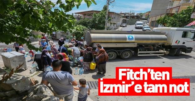 Fitch İzmir'in notunu yükseltti