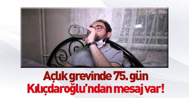 Kılıçdaroğlu açlık grevindekiler için çağrıda bulundu