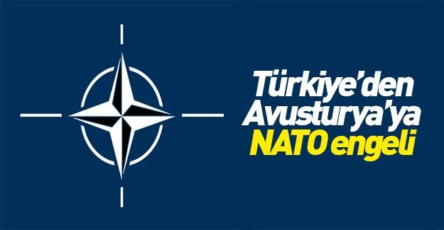 Türkiye'den Avusturya'ya NATO engeli