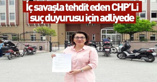 CHP'li Biçer suç duyurusunda bulundu!
