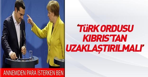 Aleksis Çipras: Türk ordusu Kıbrıs'tan uzaklaştırılmalı