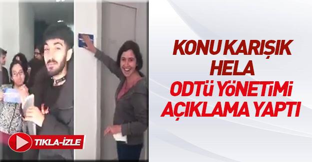 ODTÜ'den cinsiyetsiz tuvalet açıklaması