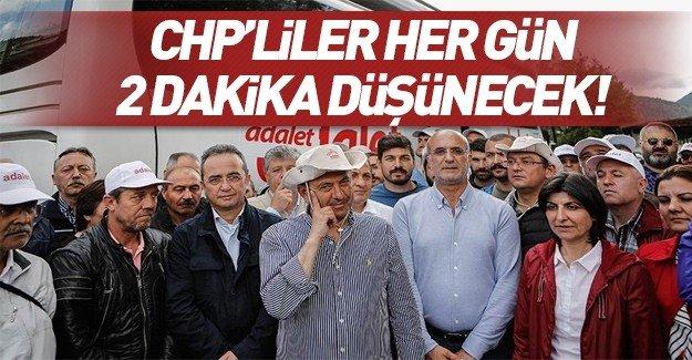 """CHP'lilerden """"düşünme eylemi"""""""