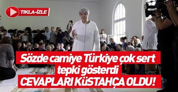 Almanya'dan Türkiye'ye sözde cami mesajı