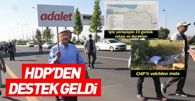 HDP'den Adalet Yürüyüşü'ne katılın çağrısı