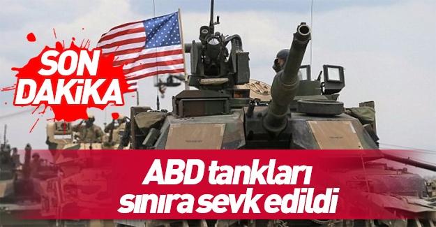 ABD tankları Rus sınırında…