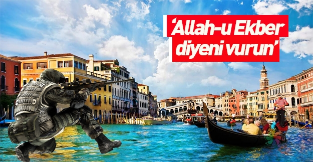 Avrupa çıldırdı: Allah-u Ekber diyen vurulacak