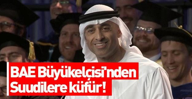 Yeni kriz yolda! BAE Büyükelçisi'nden Suudilere küfür!