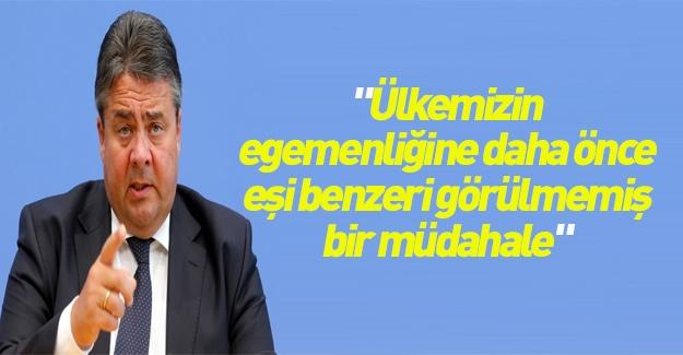 Alman Dışişleri Bakanı'nın egemenlik korkusu