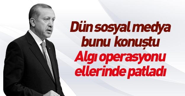 Erdoğan üzerinden algı çalışması ellerinde patladı