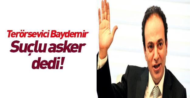 HDP'li Baydemir yine nefretini kustu!