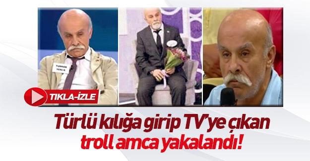 Troll amca 3 ayrı TV programında