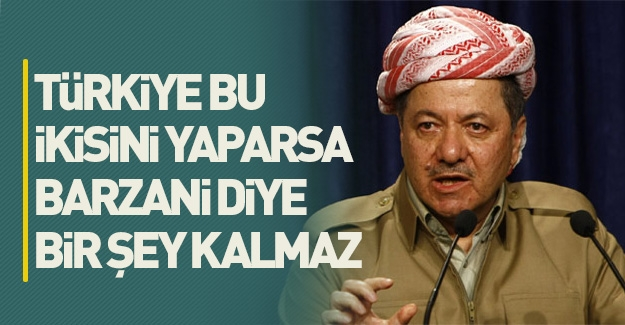 Emekli paşa açıkladı: Bu ikisi yapılırsa Barzani diye...
