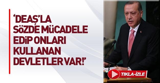 Erdoğan: PYD'nin yaptıkları insanlık suçudur
