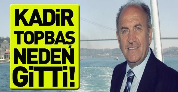 Kadir Topbaş'ı bu nedenler mi istifaya götürdü?